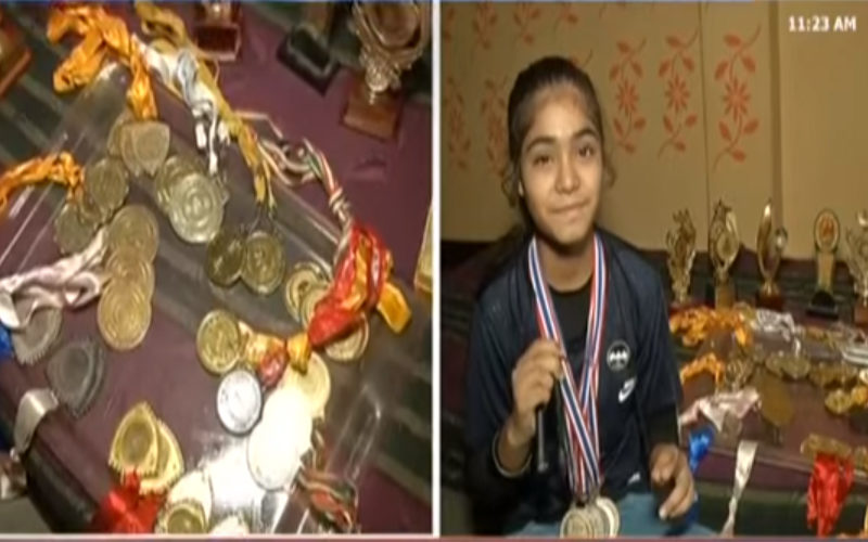 Winner of 19 gold medals, Ayesha forced to leave studies