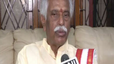Photo of TRS Government puppet in MIM's hands: Dattatreya