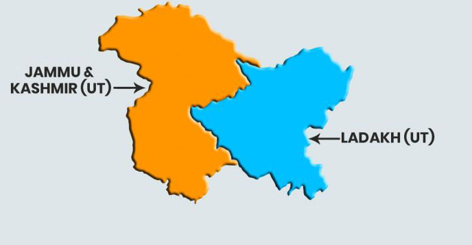 J&K now 'union territory with legislature': Home Ministry