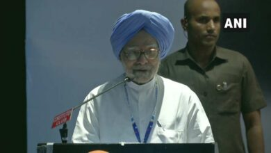 Photo of Manmohan Singh to address poll rally in Delhi today