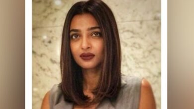 Photo of Radhika Apte's funny reaction to exercising