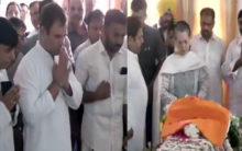 Rahul, Sonia pay last tribute to Sushma Swaraj