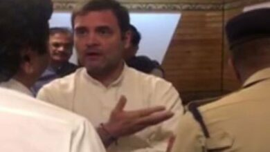 Photo of Video shows Rahul Gandhi persuading officials at J-K Airport