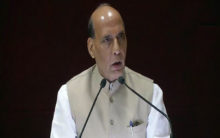 Talks with Pakistan only on PoK: Rajnath Singh
