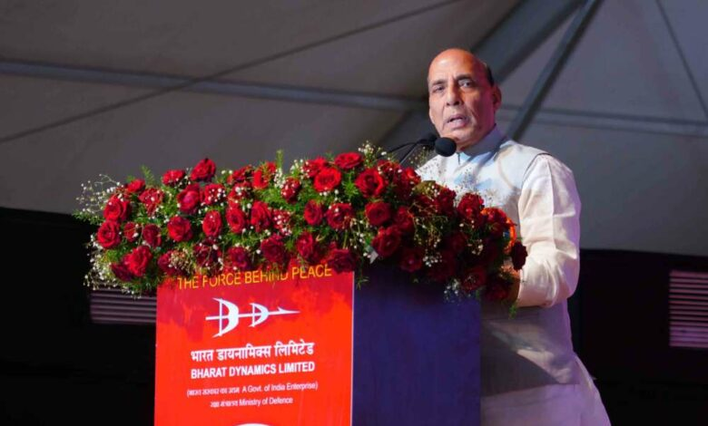 Pak missile names indicate aggression towards Ind: Rajnath Singh