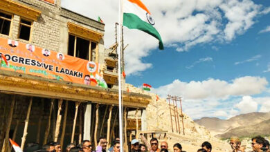 Photo of Ram Madhav extends Independence Day greetings from Ladakh