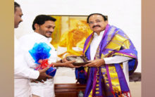 Andhra CM Jagan Reddy meets VP Naidu in Delhi