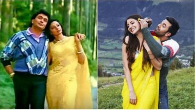 Photo of Neetu share 'like father like son' video comparing Rishi, Ranbir