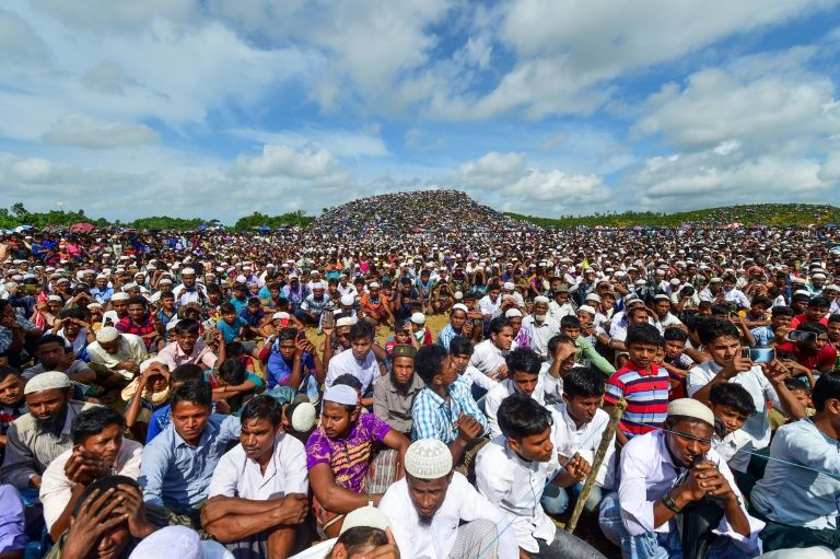 Rohingya rally to mark 'Genocide Day' in Bangladesh camps