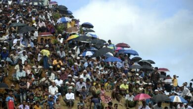 Photo of 200,000 Rohingya rally to mark 'Genocide Day' in Bangladesh camp