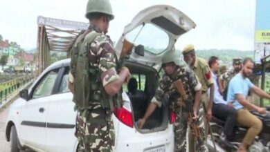 Photo of Security forces keeping strict vigil in Rajouri ahead of August