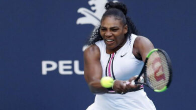 Photo of Serena Williams rips Sharapova in US Open first round