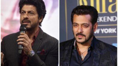 Photo of Shahrukh Khan, Salman Khan greetings on Eid