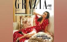 Shraddha Kapoor looks elegant on cover of Grazia