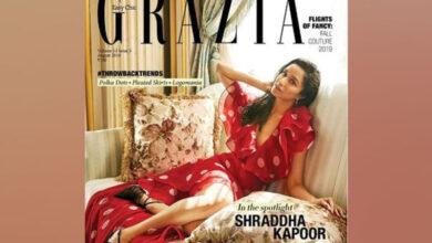 Photo of Shraddha Kapoor looks elegant on cover of Grazia