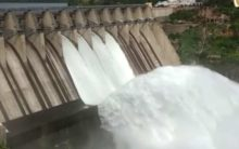 Water released from Srisailam