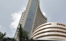 Equity indices edge higher, Tech Mahindra gains by 4.7 pc