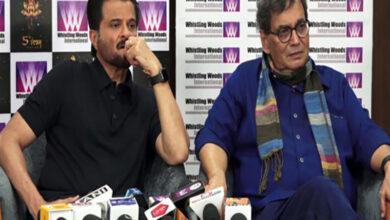 Photo of Anil Kapoor, Subhash Ghai condole Sushma Swaraj's demise
