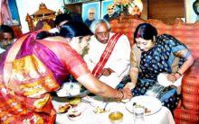 Sushma Swaraj visited residence of Dattatraya in the year 2007