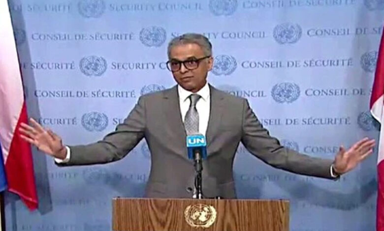 Syed Akbaruddin on Kashmir issue at UNSC