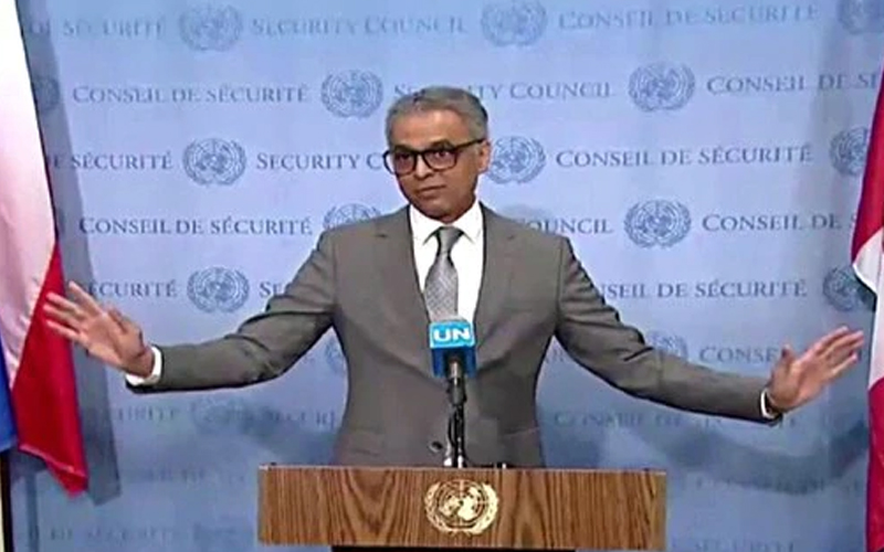 Syed Akbaruddin on Kashmir issue at UNSC