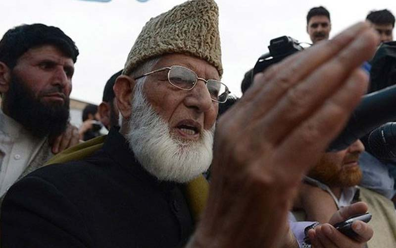 Geelani ask kashmiris to resisit