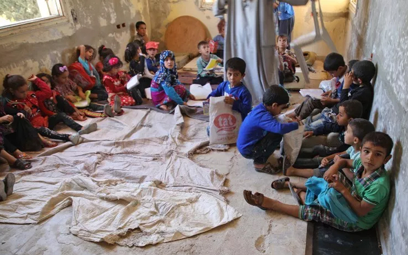 In Syria's Idlib, education a casualty of war