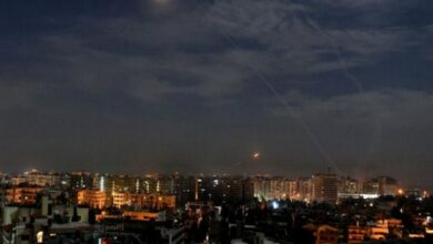 Photo of Syrian air defences repel 'enemy targets' over Damascus