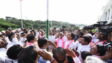 Photo of TRS Working President during I Day Celebrations