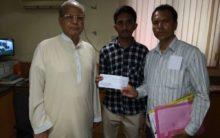 Siasat, Faiz-e-Aam Trust extends financial support to student