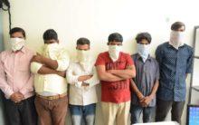 5-member gang held for property offences