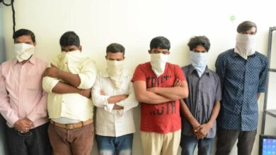 5-member gang held for property offences