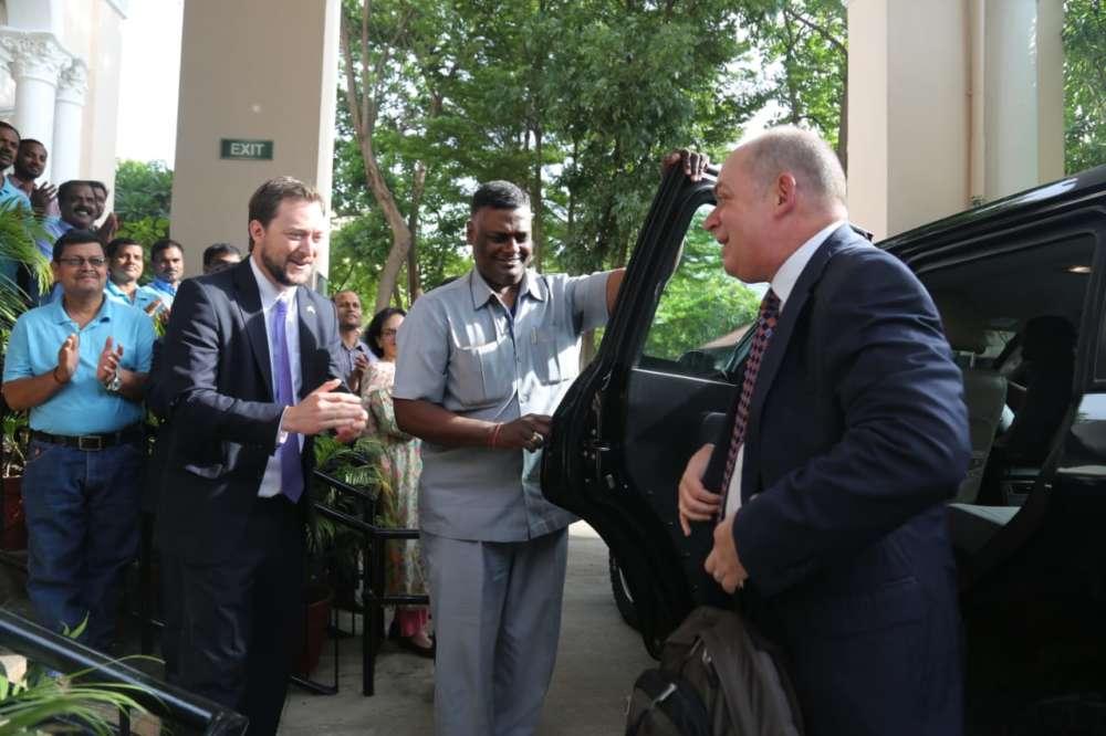 U.S. Consul Joel Reifman assumes post in Hyderabad
