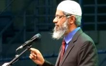 Sorry for the misunderstanding: Dr. Zakir Naik