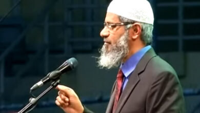 Photo of Sorry for the misunderstanding: Dr. Zakir Naik