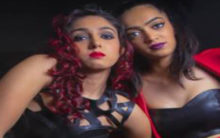 It's black magic in leather for Aamir's daughter