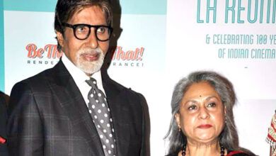 Photo of Big B to divide property equally between Abhishek and Shweta