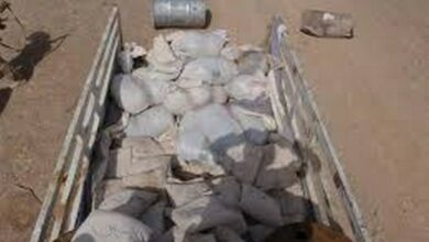 Photo of Hyderabad: Police seized 10 metric tons of Ammonium Nitrate