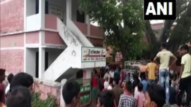 Photo of Body of man found on terrace of Bihar school