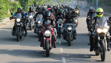 Photo of Women bikers take out rally ahead of I-Day