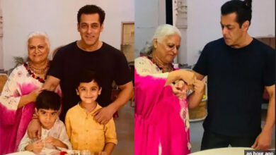Photo of Salman celebrates Raksha Bandhan with Bina Kak