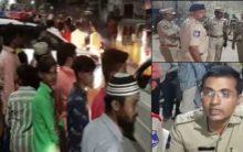 Cordon and Search operation at Hassan Nagar   Rajendra Nagar
