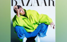 Celine Dion rocks edgy look on Harper's Bazaar cover