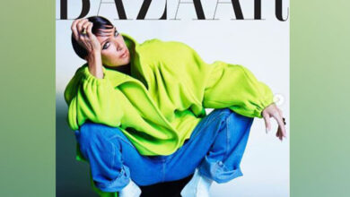 Photo of Celine Dion rocks edgy look on Harper's Bazaar cover