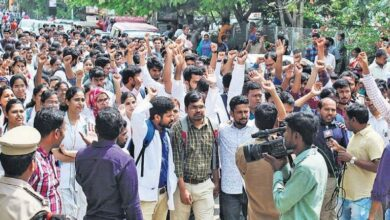 Photo of Junior doctors in Hyderabad boycotts medical practices