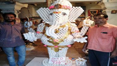 Photo of 'Paper cup Ganesha' take root in festive