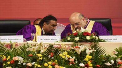 Photo of Mukesh Ambani calls Amit Shah 'true karmyogi'