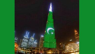 Photo of Pakistani flag orientation on Burj Khalifa sparks expats' anger