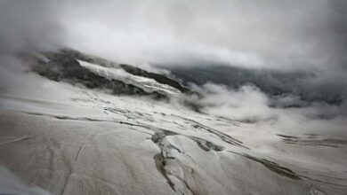 Photo of Melting glaciers, as well as ice sheets, raising Earth's seas