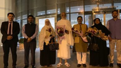 Photo of Consul General receives Govt of India's Haj Goodwill delegation